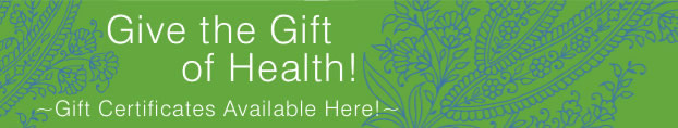 gift certificates at yoga by the sea - give the gift of health